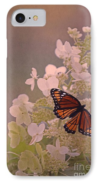 Butterfly Glow IPhone Case by Elizabeth Winter