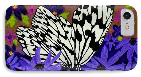 IPhone Case featuring the painting Butterfly Heaven by Celeste Manning