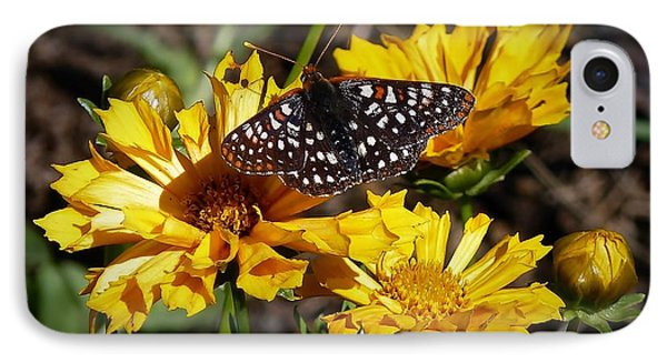 IPhone Case featuring the photograph Butterfly Heaven by Julia Hassett