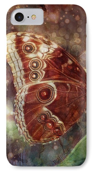IPhone Case featuring the photograph Butterfly In My Garden by Barbara Orenya