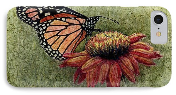 Butterfly In My Garden IPhone Case by Janet King
