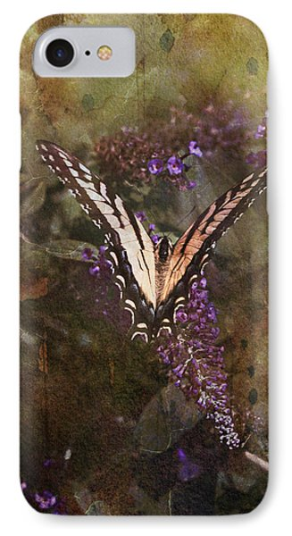 IPhone Case featuring the photograph Butterfly by John Rivera