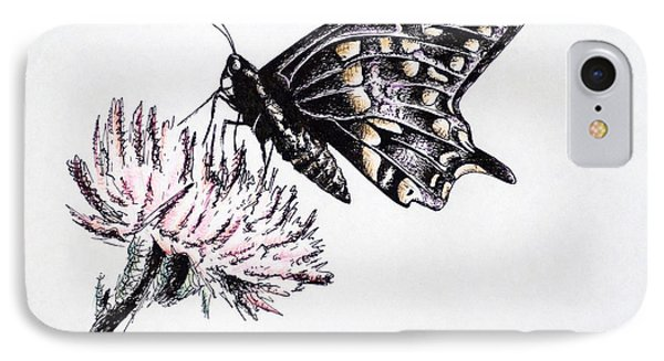 Butterfly Phone Case by Katharina Filus