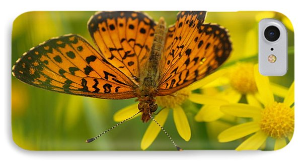 IPhone Case featuring the photograph Butterfly by James Peterson