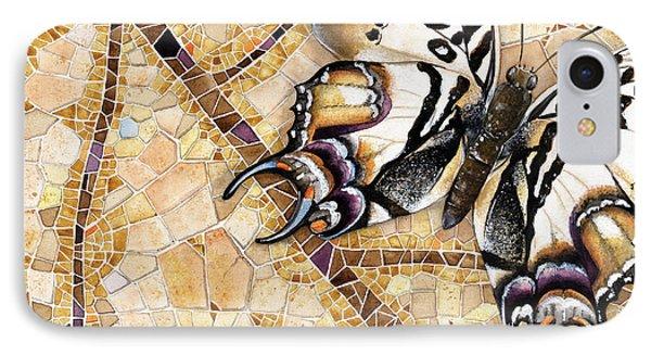 Butterfly Mosaic 01 Elena Yakubovich IPhone Case by Elena Yakubovich