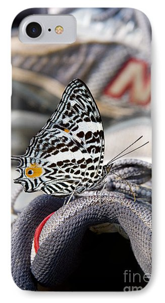 Butterfly On Sneaker IPhone Case
