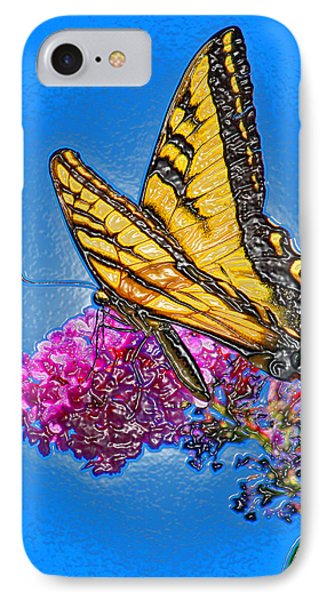 IPhone Case featuring the photograph Butterfly by Patrick Witz