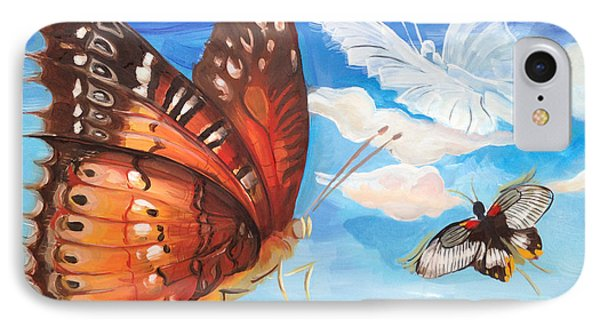Butterfly Paysage 2 IPhone Case