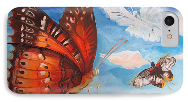 Butterfly Paysage 5 IPhone Case