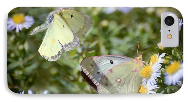 IPhone Case featuring the photograph Butterfly Moments  by Kerri Farley