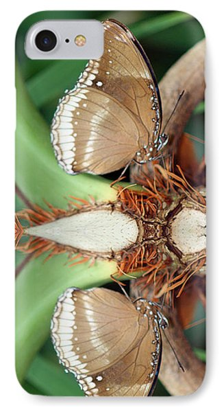 Butterfly Reflection Phone Case by Karen Adams