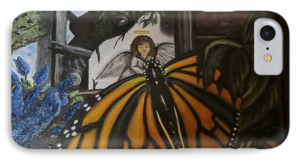 Butterfly Reflections Phone Case by Diane Mitchell