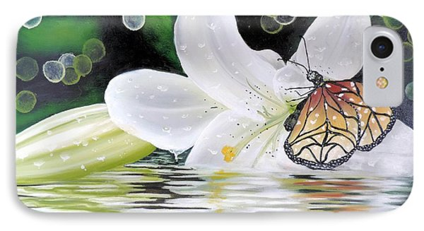 Butterfly Series Seven IPhone Case by Dianna Lewis
