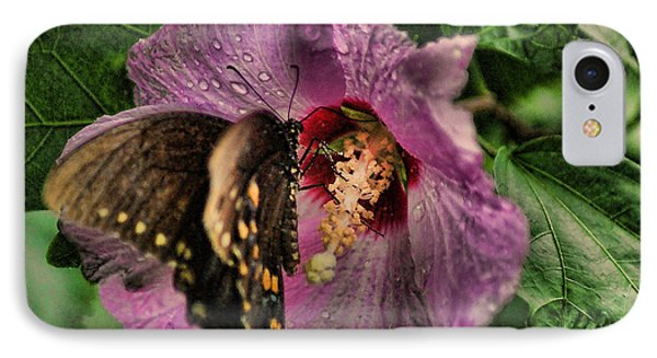 Butterfly Slurpy IPhone Case by Rick Friedle