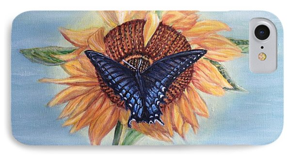 Butterfly Sunday In The Summer IPhone Case by Kimberlee Baxter