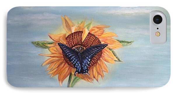 Butterfly Sunday Full Length Version IPhone Case by Kimberlee Baxter