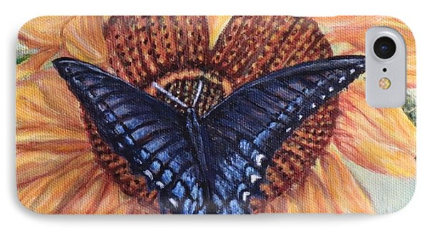 Butterfly Sunday Up-close IPhone Case by Kimberlee Baxter