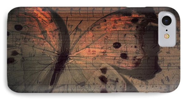 Butterfly Sunset Symphony IPhone Case by Marianna Mills