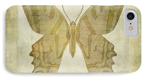 Butterfly Textures Phone Case by John Edwards