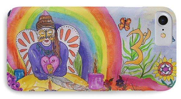 Butterfly Woman Healer I Am IPhone Case by Ellen Levinson