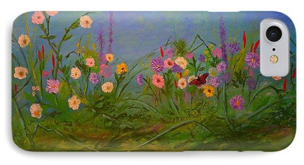 Butterflys Dream Land  Phone Case by Michael Mrozik