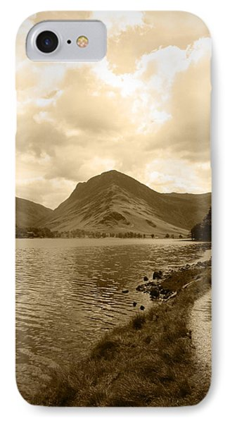 Buttermere Bright Sky IPhone Case by Kathy Spall