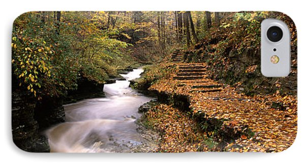 Buttermilk Creek, Ithaca, New York IPhone Case by Panoramic Images