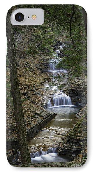 Buttermilk Falls In Autumn IIi Phone Case by Michele Steffey