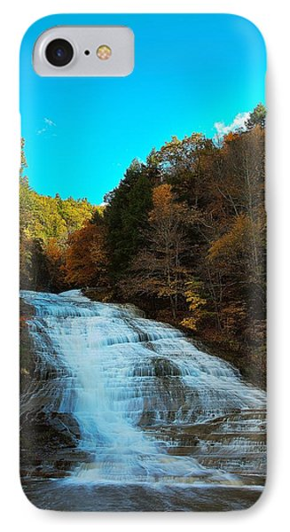 IPhone Case featuring the photograph Buttermilk Falls Ithaca New York by Paul Ge