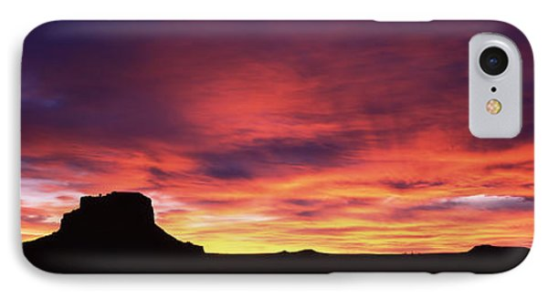Buttes At Sunset, Chaco Culture IPhone Case