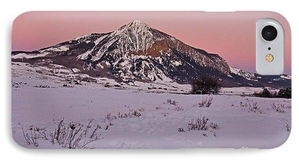 Butte's Winter Glow IPhone Case