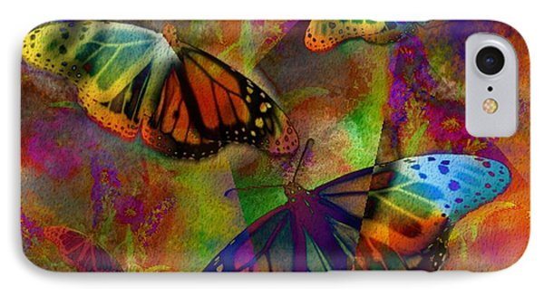 Buttrerfly Collage All About Butterflies IPhone Case by Judy Filarecki