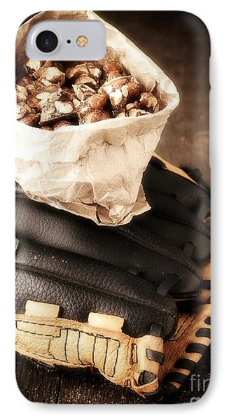 Buy Me Some Peanuts And Cracker Jack IPhone Case by Edward Fielding
