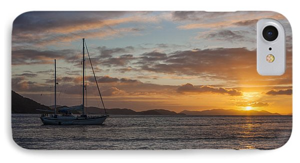 Bvi Sunset IPhone Case by Adam Romanowicz