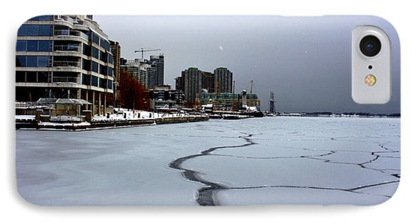 By Frozen Harbour IPhone Case by Nicky Jameson