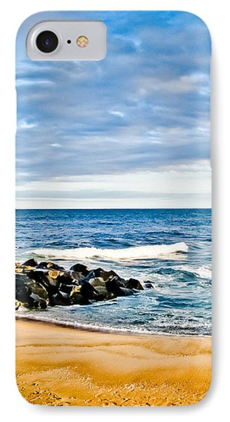 By The Beautiful Sea Phone Case by Colleen Kammerer