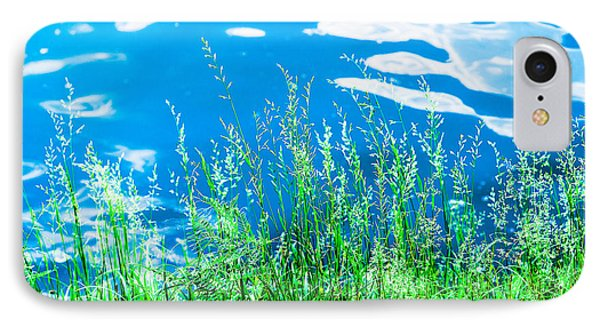 By The Blue Water IPhone Case by Alexander Senin