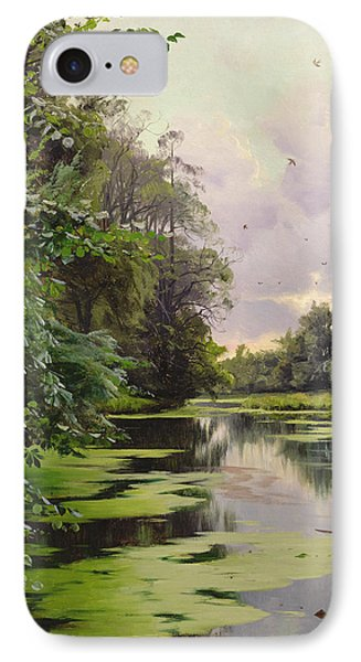 By The Lake II IPhone Case