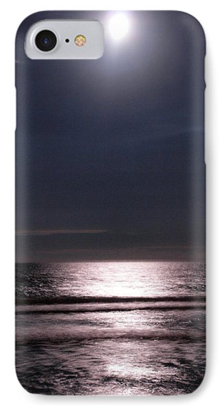 IPhone Case featuring the photograph By The Light Of The Silvery Moon by Irma BACKELANT GALLERIES
