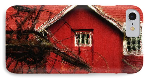 By The Mill House IPhone Case by Jack Zulli