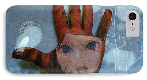 IPhone Case featuring the digital art By The Pricking Of My Thumb by Barbara Orenya