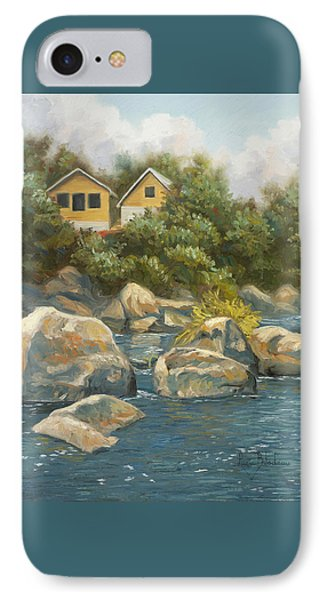 By The River IPhone Case by Lucie Bilodeau