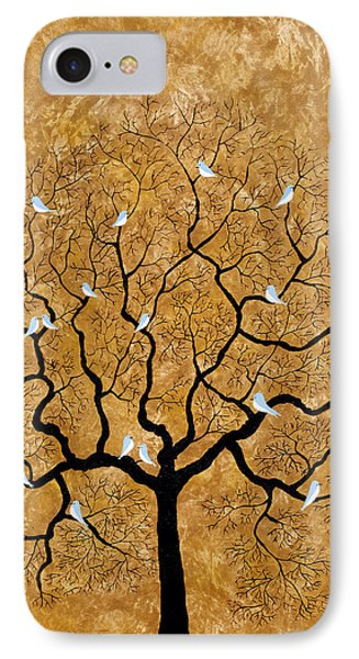 By The Tree IPhone Case by Sumit Mehndiratta
