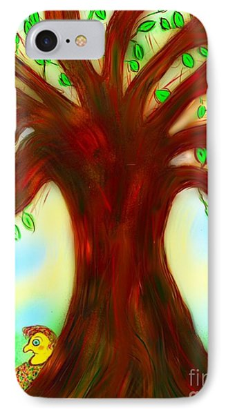 By The Tree IPhone Case by Susan Townsend