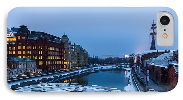 Bypass Canal Of Moscow River - Featured 3 IPhone Case by Alexander Senin