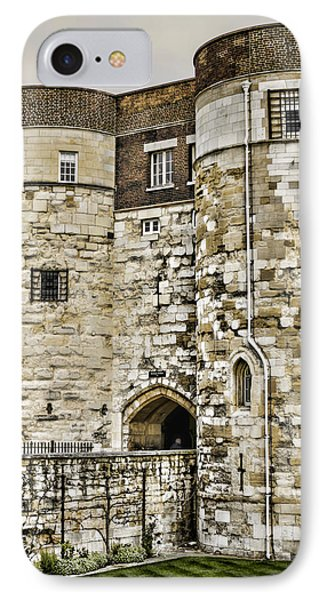 Byward Tower Phone Case by Heather Applegate