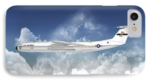 C-141b Starlifter IPhone Case by Arthur Eggers