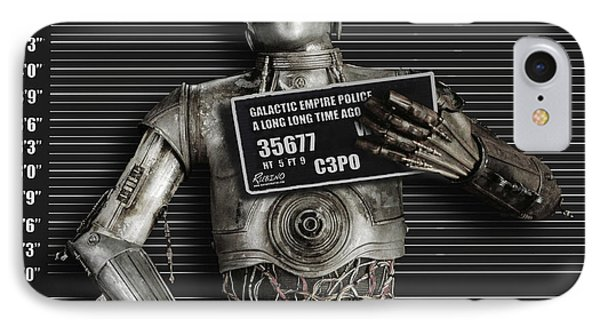 C-3po Mug Shot IPhone Case