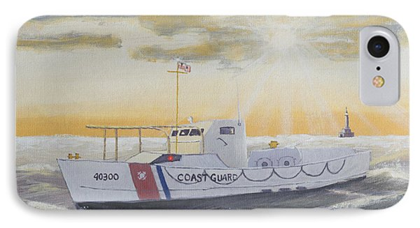 C G  40300 On Patrol IPhone Case by Jerry McElroy