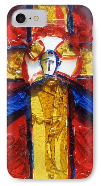 C01.  Producing Stained Glass Murals - Sample For Client IPhone Case